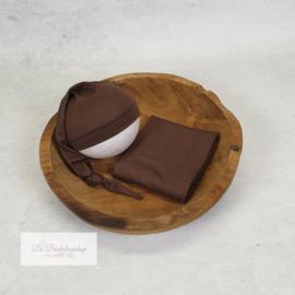 Puntmuts - basic serie (Cacao)
