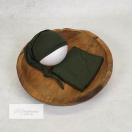 Wrap- basic serie (Donker groen)