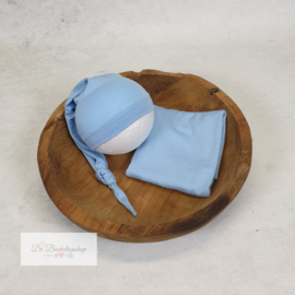 Wrap- basic serie (Baby blauw)