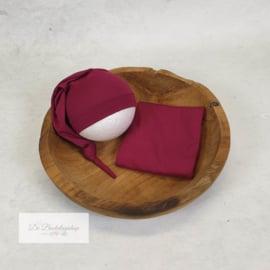 Wrap- basic serie (Donker Fuchsia)