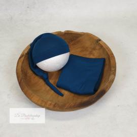 Wrap- basic serie (Pertol blauw)