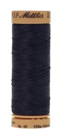 Mettler quiltgaren met wax-916 donkerblauw