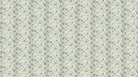 8508 daisy stripe blue
