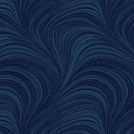 Pearlescent Wave Texture Indigo