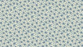 8509 Small flower blue