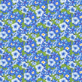 Petunia's blauw