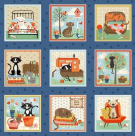 Crafty Cats panels klein