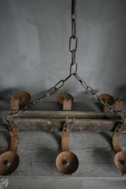 Oude franse lamp