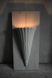 Unieke wandlamp,  alleen af te halen!