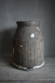 Prachtige houten pot