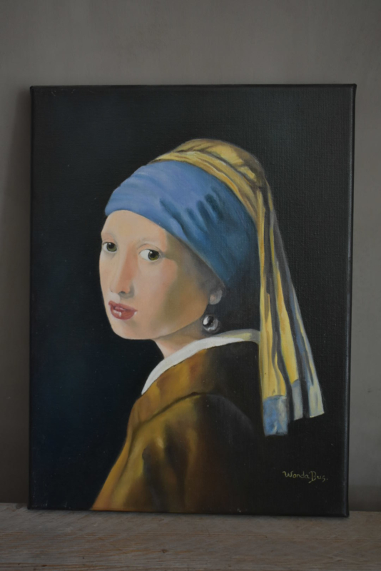 Schilderij Meisje met de Parel
