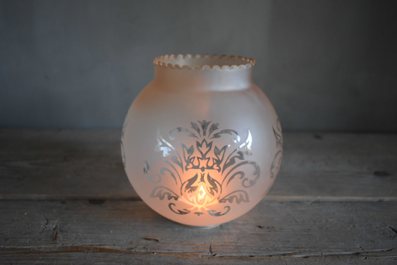 Brocante lampenkapje