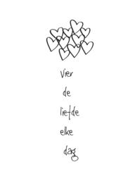 Vier de liefde elke dag