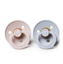 Fopspenen Bibs DUO 'Blush & Cloud' (maat 1)