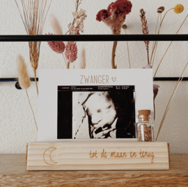 Plankje | TOT DE MAAN EN TERUG