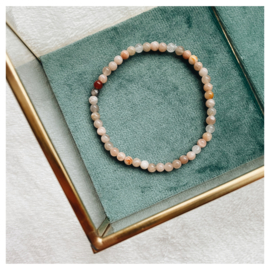 Moonstone bracelet - with/without MAMA/OMA bead