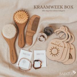 Kraamweek box   5 dagen lang 1 cadeau!