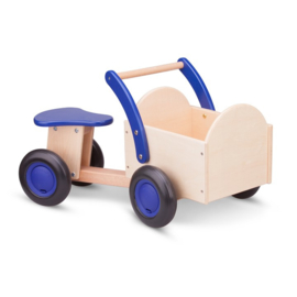 Bakfiets blauw (New Classic Toys)