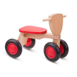 Loopfiets rood (New Classic Toys)