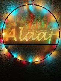 Raam/deur cirkel Ø 35 cm verlicht ALAAF