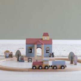 Little Dutch Treinbaanuitbreiding - treinstation