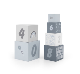 Label-Label Houten Stapelblokken