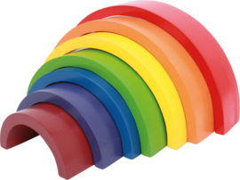 Regenboog blokken XL (Small Foot)