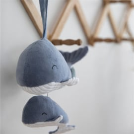 Little Dutch Muziekdoosje Walvis Ocean blue
