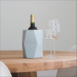 Facet wijnkoeler naturel
