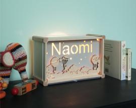 Deluxe Naamlamp met Thema: Luchtballonnen