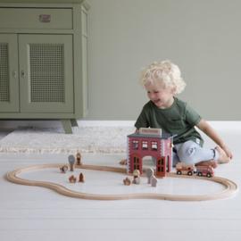 Little Dutch Brandweerkazerne - Treinbaanuitbreiding