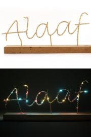 Verlicht Carnavals Plankje, Alaaf