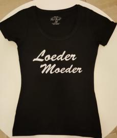 T-shirt Loeder Moeder