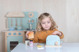 Little Dutch Houten broodrooster 10-delig