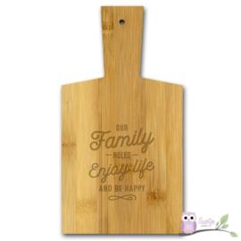 Borrelplank Familie