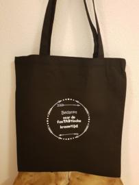 Katoenen tas, bedankt voor de fantastische kraamtijd