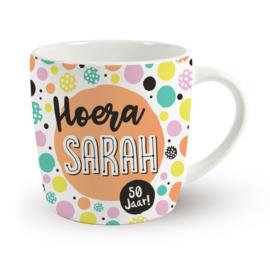 Verjaardagsmok Hoera Sarah