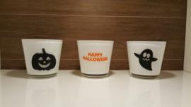 Theelichtset Halloween