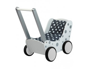 Simply for Kids Poppenwagen Zilver