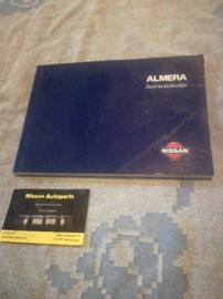 Instructieboekje '' Nissan Almera N15'' OM8D-0N15E1E