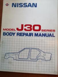 '' Body repair manual J30 '' BR9E-0J30G0 Nissan Maxima J30