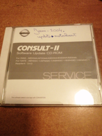 Consult-II Software Update CD-ROM DIAG: AED04A/ AFD04A/ ASD04A/ EGD04A/ EID04A NATS: AEN02C-1/ AFN02C-1/ ASN02C-1/ EGN02C-1/ EIN02C-1