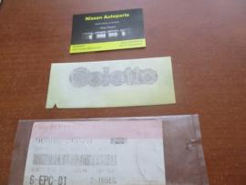 Embleem Colette Nissan Micra K10 90896-30B20