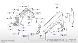 Zijscherm Nissan Primera P12 63101-AV630