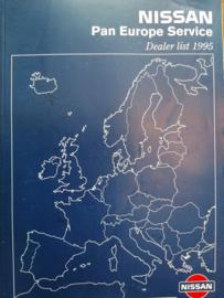Nissan Pan Europe Service 1995