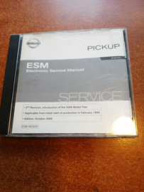 Electronic Service Manual '' Model D22 series 2nd revision '' Nissan King Cab D22 SM5E00-1D22E0E