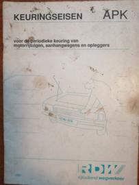 Milieukeuringseisen APK 1991