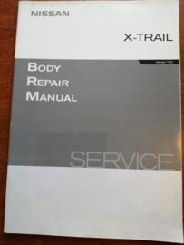 '' Body repair manual T30 '' BR1E-0T30E0E reparatiehandboek Nissan X-trail T30