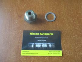 Inschroefkoppeling oliekoelerbuis Nissan Micra K11