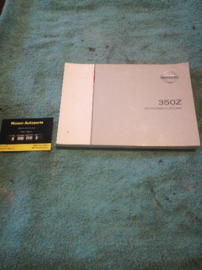 Instructieboekje '' Nissan 350Z Z33 '' OM4G-0Z33E1E